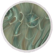 Spinning Galaxies Round Beach Towel