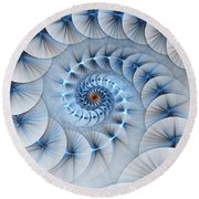 Spiral Staircase Round Beach Towel