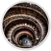 Spiral Staircase No2 Round Beach Towel