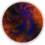 Spirit Dancer Round Beach Towel