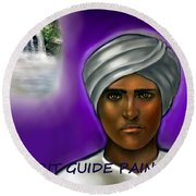 Spirit Guide Collection Round Beach Towel