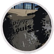 Spirit Of Saint Louis Round Beach Towel