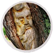 Spirit Of The Forest ... Round Beach Towel