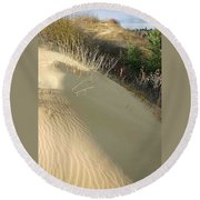 Spirit Sands - Late Day Round Beach Towel