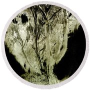 Spirit Tree Round Beach Towel