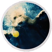 Splashdown Round Beach Towel