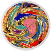 Split  Round Beach Towel