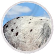 Spotted  Round Beach Towel