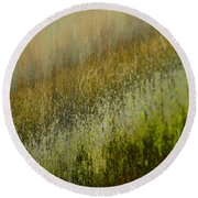 Spring Abstract Round Beach Towel
