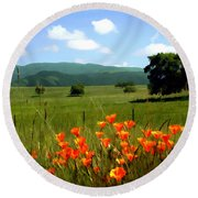 Spring At Gainey Ranch Round Beach Towel