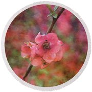 Spring Blossoms 9129 Idp_2 Round Beach Towel