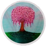 Spring In Bloom Round Beach Towel
