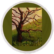 Spring On Figueroa Mt. Round Beach Towel