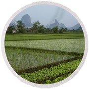 Springtime In Guangxi Round Beach Towel