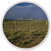 Springtime In The Western Cape Round Beach Towel