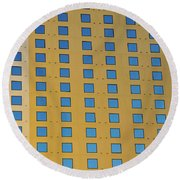 Squares In A Square Round Beach Towel