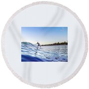Srufer, Dude Round Beach Towel