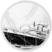 Ss United States Round Beach Towel
