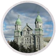 St. Anne's Church Round Beach Towel