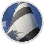 St. Augustine Lighthouse 203 Round Beach Towel