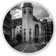 St Columba Round Beach Towel