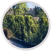 St. George Castle Round Beach Towel