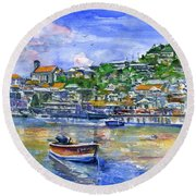 St. George Grenada Round Beach Towel