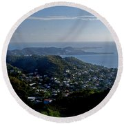 St. George's Grenada Round Beach Towel