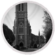 St. John's Church Tralee Ireland Round Beach Towel