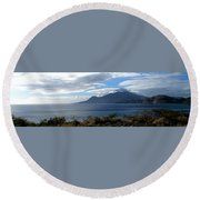 St Kitts Vista Round Beach Towel