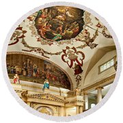 St. Louis Cathedral 2 Round Beach Towel