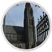 St. Mary Round Beach Towel