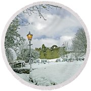 St Mary's Churchyard - Tutbury Round Beach Towel