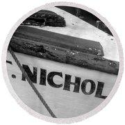 St. Nicholas Round Beach Towel