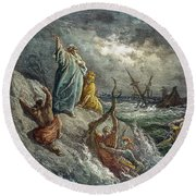 St. Paul: Shipwreck Round Beach Towel