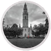 St Paul's Church A Portland Square Bristol England Round Beach Towel