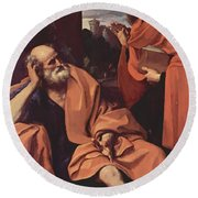 St Peter And St Paul Round Beach Towel