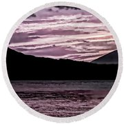 St Thomas - Sunset 2 Round Beach Towel