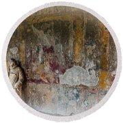 Stabian Baths - Pompeii 2 Round Beach Towel