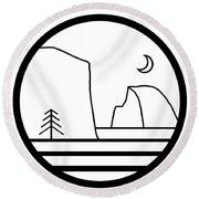Staff Logo Round Beach Towel