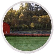 Star Barn Round Beach Towel