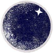 Star Cluster Round Beach Towel