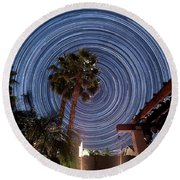 Star Party Round Beach Towel
