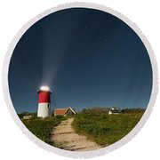 Star Search Square Round Beach Towel