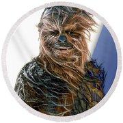Star Wars Chewbacca Collection Round Beach Towel