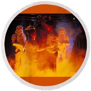 Star Wars Episode V The Empire Strikes Back Round Beach Towel