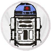 Star Wars R2d2 Droid Robot Round Beach Towel