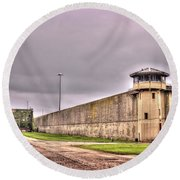 Stateville Correctional Center Round Beach Towel