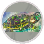 Steady Round Beach Towel