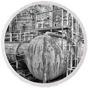 Steel Industry - Bethlehem Steel Round Beach Towel
